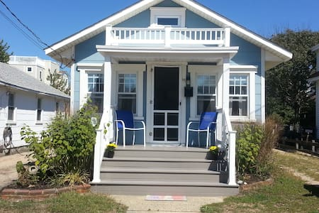 **2bd bungalow, 5 houses off the beach** - Ship Bottom