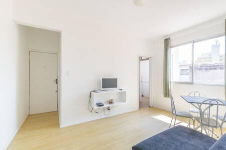 Coração de Floripa: apartamento p/ até 4 hóspedes - Florianópolis - Apartment