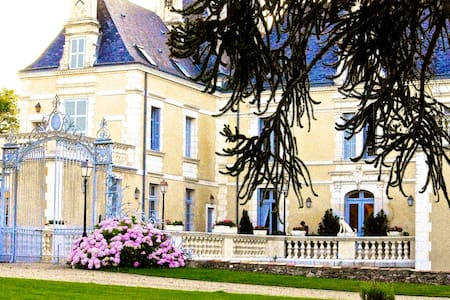 8 guests in beau chateau setting - Poitiers - Schloss