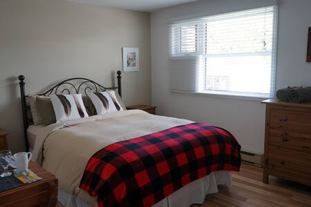 Cozy room at Stoneham ski resort - Şehir evi