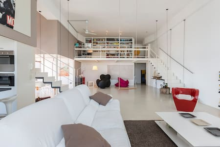 Equipped spaces in loft shared - Mailand