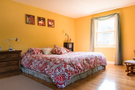 Great Quiet Location, King Bed, A/C - Portsmouth - Casa