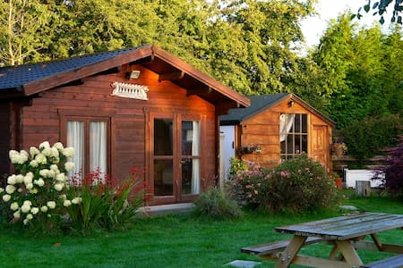 Delightful Log Cabin in Wicklow - Chalupa