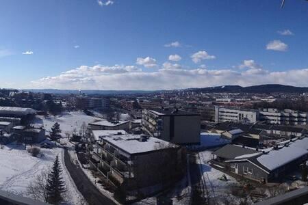 Toppleilighet med panorama utsikt! - Wohnung