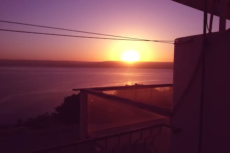 Amazing view  kineret Lake tiberias - Tiberias - Apartment