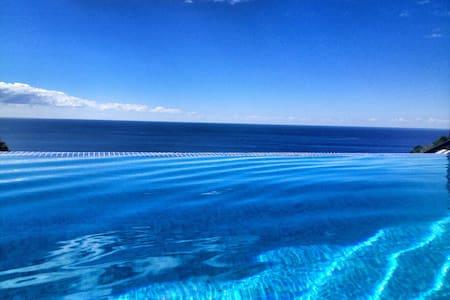 Infinity Pool above the Sea - Ponta do Sol  - House