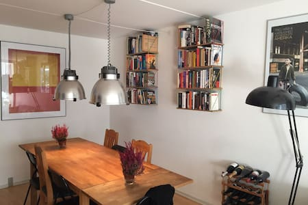 Large and cozy bedroom in hip Cph