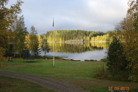 Cottages on the forest lake. - Putikko