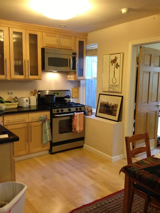 1st floor, 2nd shared living space and 2nd full kitchen
