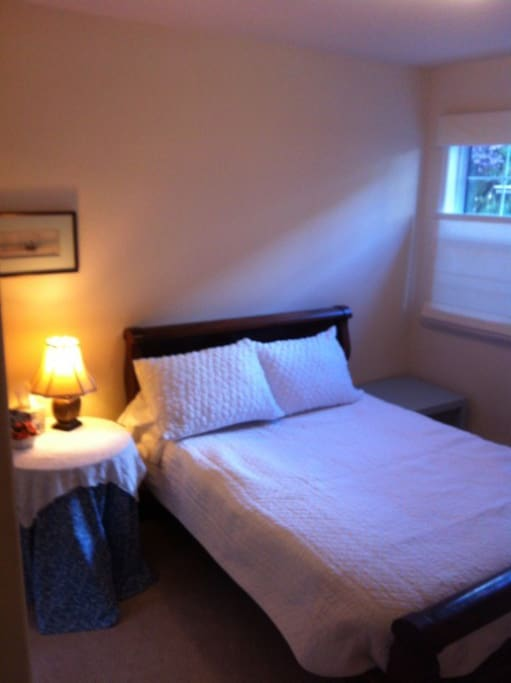 Downstairs bedroom, full size bed