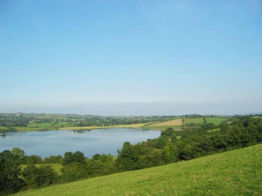 View of Lough Avaghon