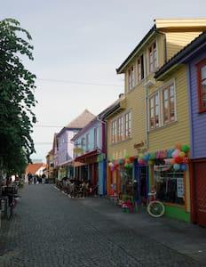 Prettiest street in the very centre of Stavanger - Stavanger - Appartamento