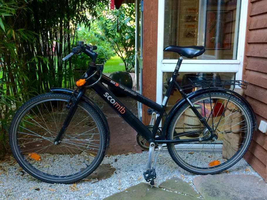 Two AirDonkey rental bikes available