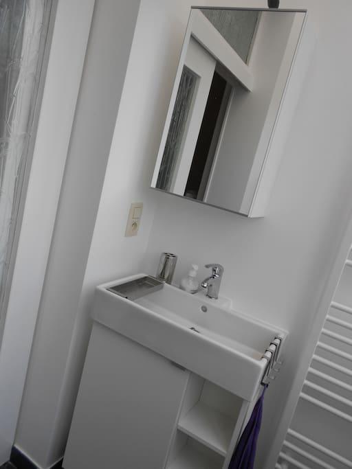 Nice bathroom w shower