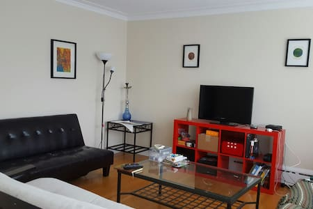 Quiet and sunny room in my two bedroom apartment in the heart of Ottawa's Byward Market. Located 10 minutes away from Parliament in a quiet residential area. Close to all sorts of amenities and entertainment!