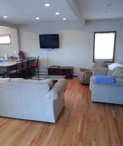 Close to all. Beach is just 5 blocks away and train to NYC. shops and restaurants are within walking distance. we have a Brand new Boardwalk for walking or Biking we have Bikes on premises for your use. 2nd Bedroom is  used by full time working Male.