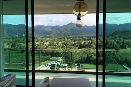 Charming panorama view of Muake Lek - Apartment