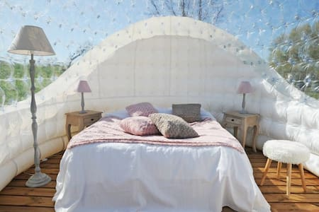 Chambre bulle insolite - Igloo