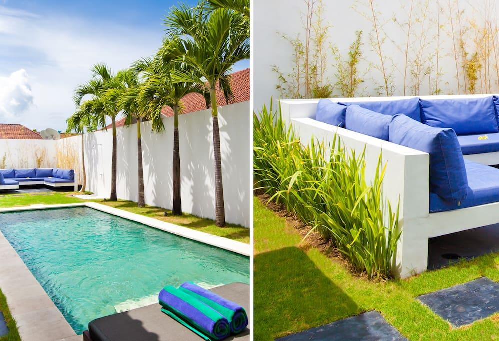 pool + gazebo