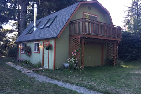 The Requa Inn Cottage - Klamath - Szoba reggelivel