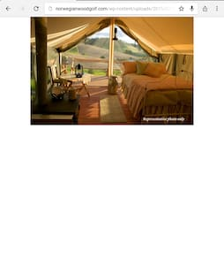 Glamping tents on a 80 acre ranch! - Helena - Tenda
