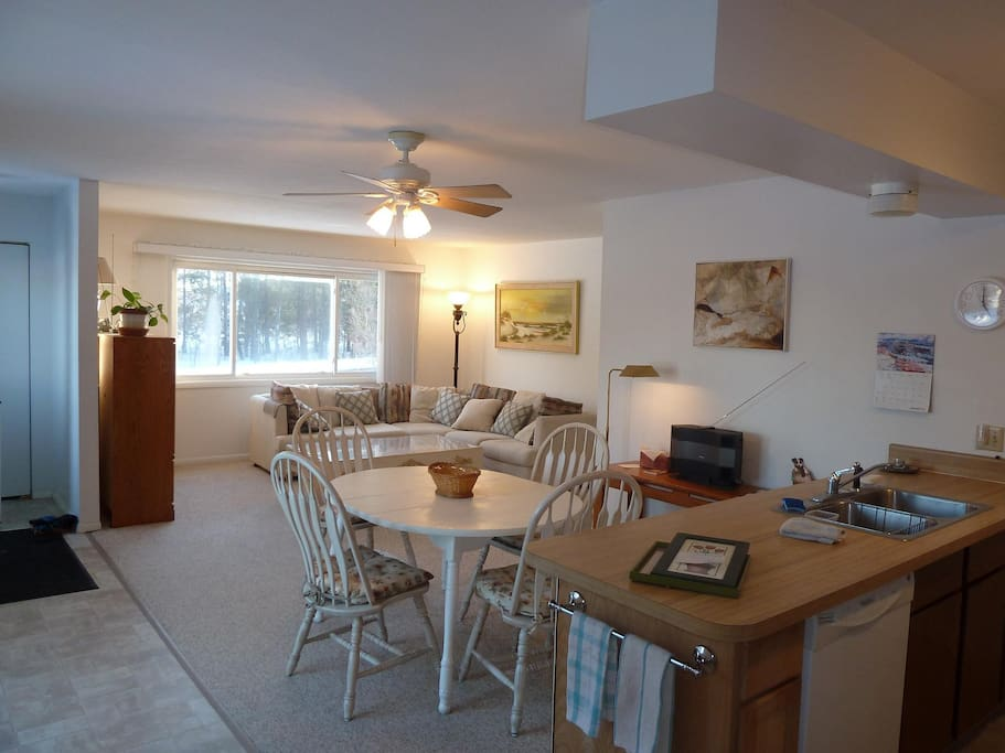Spacious floor plan with open country views, all appliances, including dishwasher, washer & dryer provided