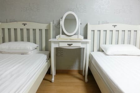 Clean, Comfortable accommodation Double room - Jung-gu - Apartamento