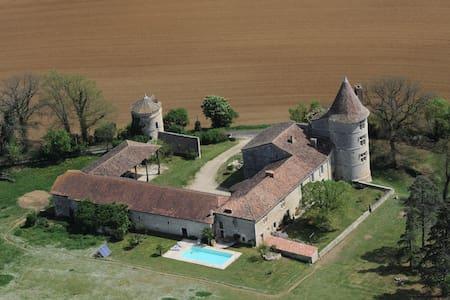 Château Gersois du XVIème siècle - Castle