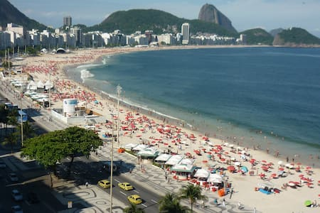 Mar Aberto - Excelente quarto e sala - Copacabana - Rio de Janeiro - Apartment