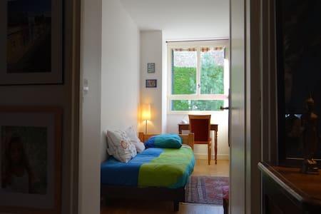 Chambre calme côté jardin à Paris