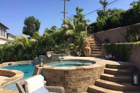 Resort-like POOL Home in Encinitas -WALK to BEACH! - Encinitas