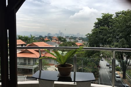 Perfect hilltop Bangsar city apartment - Kuala Lumpur - Wohnung