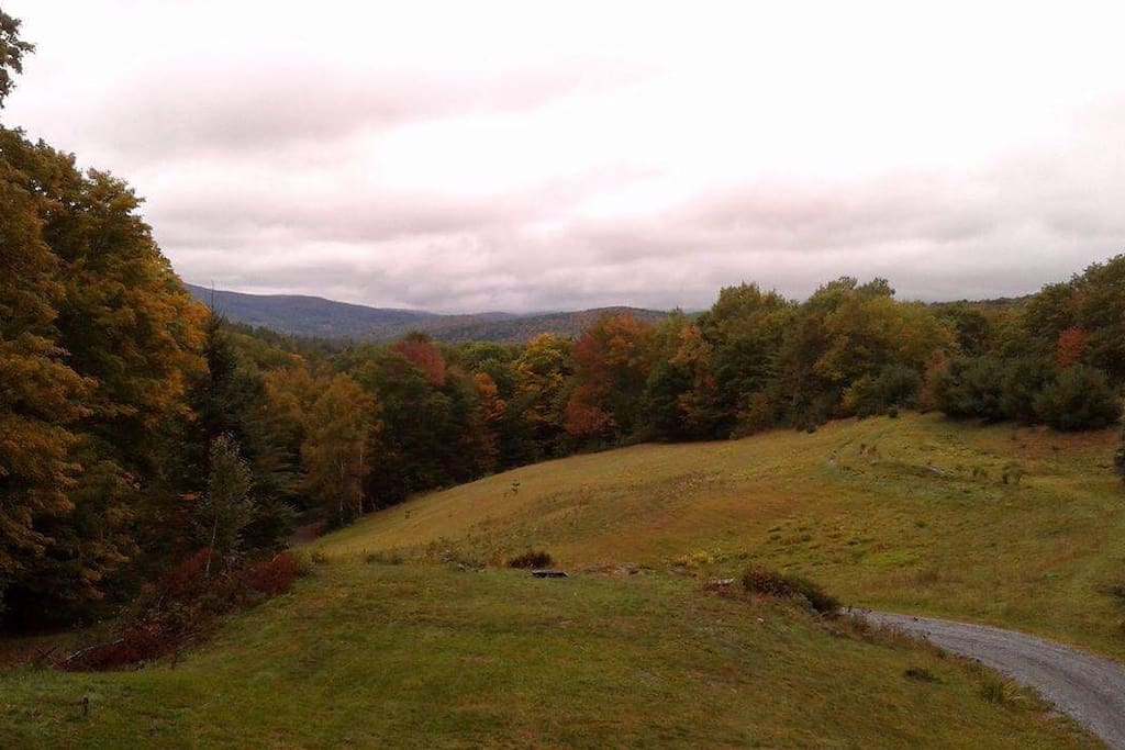 Beautiful foliage view from our home 0ct 2016