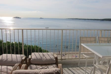 3-room waterfront Cannes Palm Beach - Apartment