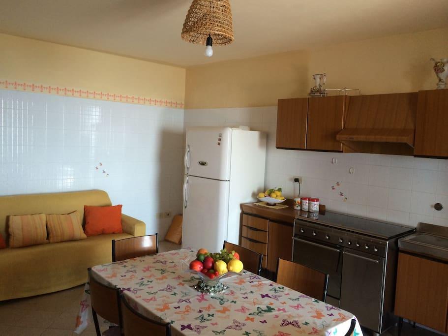 Extra large fridge and stove