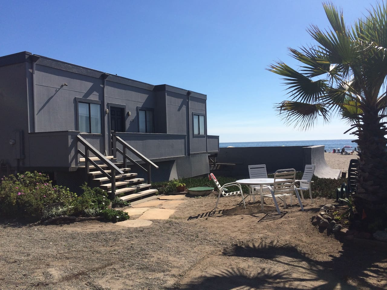 Beachfront House in Stinson Beach!