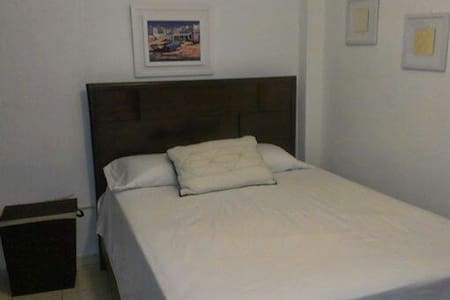 Another amazing studio next to El Gran Café in the beautiful garden of the Atlantic Ocean...Aguadilla.  The best of our acomodations is that they are  equiped with wi-fi, a/c, tv, and our proximity to every great spot of the amazing island of PR.