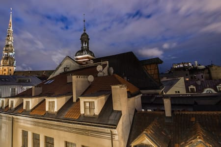 Penthouse in the heart of Riga