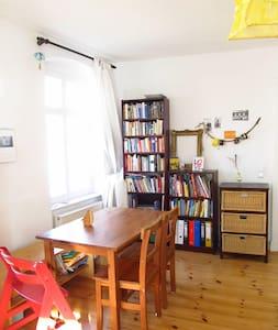 Sunny and spacious room in Mitte - Berlino - Appartamento