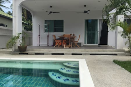 Villa 3BR, swimming pool in Chaweng
