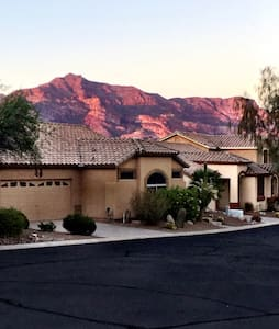 Amazing View of Mountains - Gold Canyon - Casa