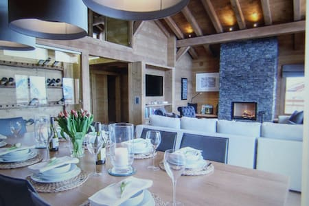 Luxury Verbier Chalet