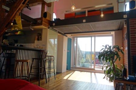 Superbe appartement très lumineux - Lägenhet