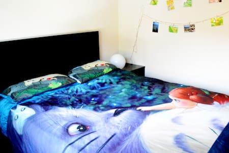 Cute Totoro Bedroom Great Location