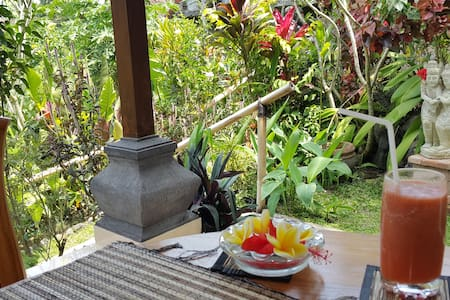 Garden lovers delight, central Ubud
