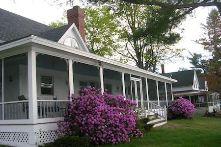 Summer Lake House Mascoma Lake NH - Haus