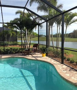 Sun-drenched Pool Home - Private Suite w/Breakfast - House