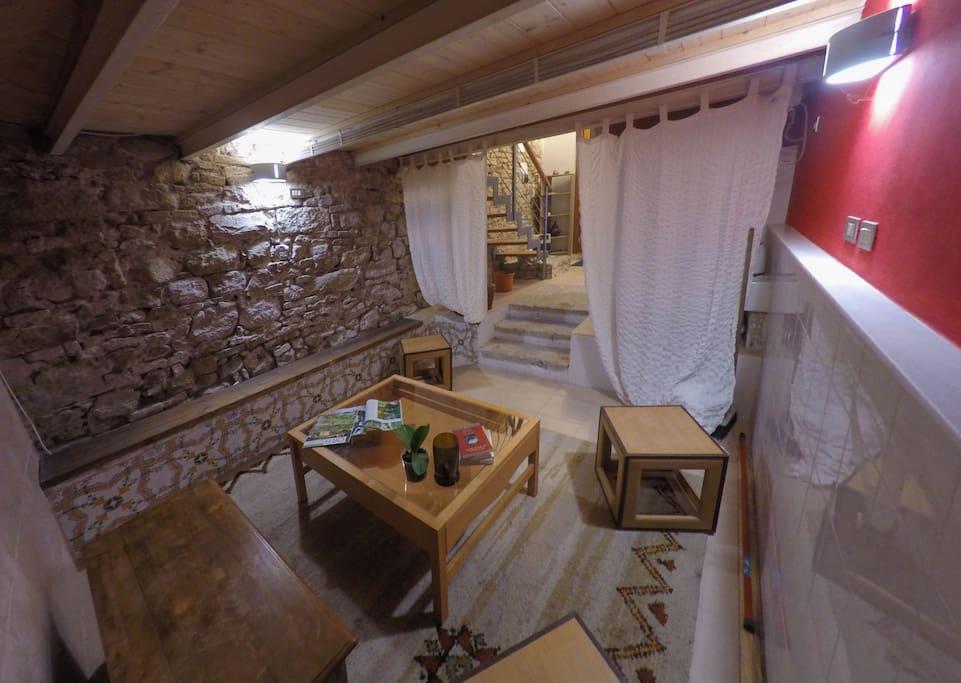 Camera etrusca nel cuore di Perugia