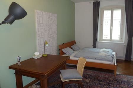 The room is located in a freshly renovated flat in the heart of Innsbruck (right next to the triumphal arc). You are basically five minutes walking away from everything.