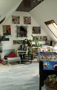Ein großes offene Zimmer, 50qm - House
